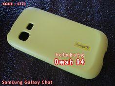 Kode Barang 1771 Jual Silikon Soft Case Samsung Galaxy Chat B5330 Hijau (Green) | Toko Online Rame - rameweb
