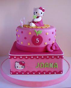 Torta Hello Kitty de Artifondant