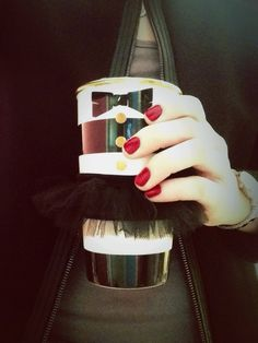 Starbucks + Alice and Olivia Mug | Holy mother of coffee, it's so cute. I must have it