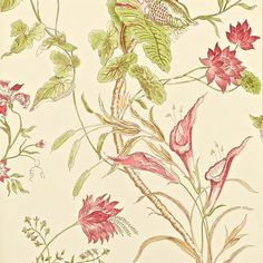 Sanderson - Traditional to contemporary, high quality designer fabrics and wallpapers | Products | British/UK Fabric and Wallpapers | Mauritius (DCAVMA104) | Caverley Wallpapers