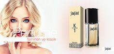 Sansiro K1 Bayan Parfüm Feminen ve klasik…Tarzından ödün vermeyen bayanlar için Odunsu ve meyvemsi esintilere sahip etkileyici karakteristik kokusuyla anında fark edilen Sansiro K1 parfümü ile siz de tarzınızı konuşturun. http://www.e-sansiro.com/Sansiro-K1-Bayan-Parfum,PR-485.html