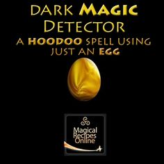 detect evil magic hoodoo recipe using just an egg how to detect evil magic - Pinned by The Mystic's Emporium on Etsy