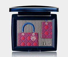 Ltd edition Lady Dior bag eyeshadow palette - PaulaTrendSets Lady Dior, Dior Beauty, Luxury Beauty, Beauty Tips For Hair, Beauty Make Up, Beauty Box, Sephora, Christian Dior, Luxury Cosmetics