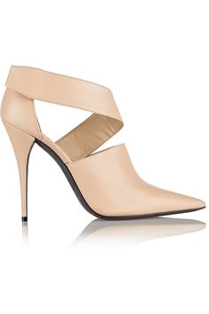 Narciso Rodriguez | Camilla cutout leather ankle boots | NET-A-PORTER.COM k