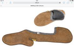 Resultado de imagen para lasso slippers template