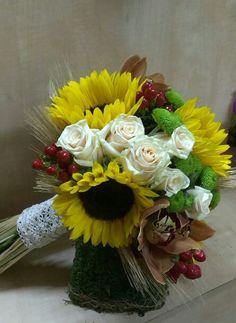 Sunflower rosses orkide