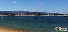 ¿A que sería un buen lugar para pasar la tarde?  ¡ Compárte con quién te gustaría estar aquí !  #playas #verano #vacaciones Recorre las playas de Galicia con http://www.reservasdecoches.com