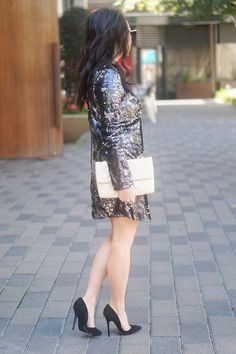 SEQUIN DRESS FOR NEW YEARS EVE