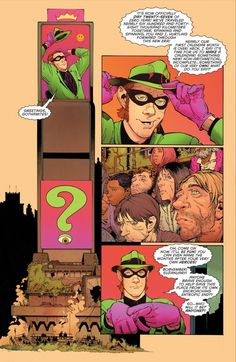 "What is ""Zero Year""? It's not ""Year One"" (but it IS set in Batman's salad year): The Riddler is more absurd father of dada than dispenser of riddling clues in this ""New 52"" redo of Bruce Wayne's nocturnal hobby."
