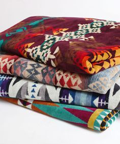 Pendleton For Urban Outers Brings You Navajo Print Blankets And Towels Refinery29