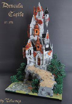 ~ Lego Mocs Holidays ~ Halloween ~ Dracula Castle - CCC XIII   by Toltomeja