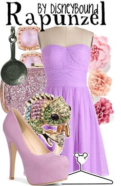 """""""Rapunzel"""" by lalakay ❤ liked on Polyvore"""