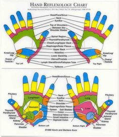 """""""The underlying theory behind reflexology is that there are """"reflex"""""""