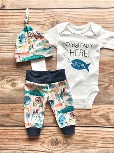 Ofishally Here Newborn outfit Fishing Hunting Baby Fishing Outfit Coming Home Outfit Going Home Third Baby, First Baby, O Fish Ally, Baby Kicking, Fishing Outfits, Pregnant Mom, First Time Moms, Baby Sleep, Future Baby
