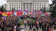 Disso Voce Sabia?: Ucrânia admite perda de controle sobre a região leste