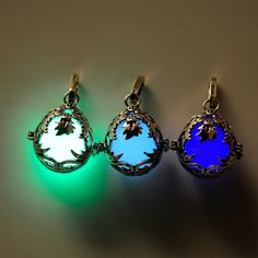 Flower fairy necklace glow in the dark acessorios para mulher