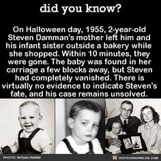 did did she not realize that babies shouldnt be left completely odd factsunusual - Strange Halloween Facts