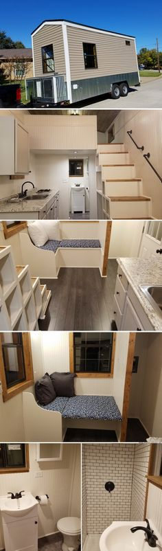 A tiny house in Fort Worth, Texas, that spans just 160 sq ft!