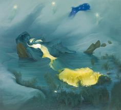 Moon and Tide, by Inka Essenhigh