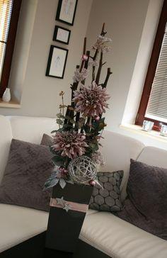 Luxusní vánoční dekorace s astrami