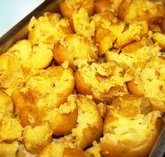 Middag med Anna och Stefan den 8 Augusti Bruten potatis