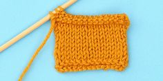 Purled I-Cord Bind Off in Three Easy Steps
