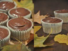 Maronenmuffins mit Schokoladenganache