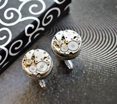 Cuff Links for man movement watches