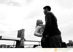 Engaged. Alison Conklin Photography. Nautical. Black and white.