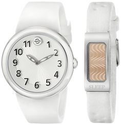 Philip Stein Unisex PS-DAYNIGHT4 Analog Display Japanese Quartz White #Watch Set. Silicone #band with buckle closure. Stoke In: koponde.com