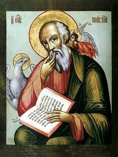 Icon of St. John the Theologian.