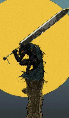 Guts Manga Anime, Manga Art, Anime Artwork, Cool Artwork, Dark Fantasy Art, Dark Art, Kentaro Miura, Manga Illustration, Dark Souls