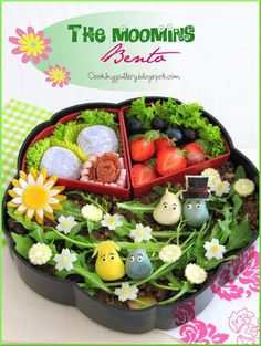 The Moomins Bento - From the Cooking Gallery