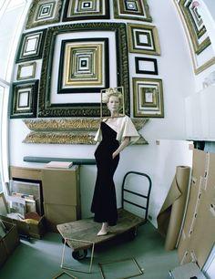 "Tilda Swinton in ""The Surreal World"" by Tim Walker for W Magazine"