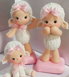 Eu amo tanto! ! #ovelhinhas #festaovelhinhas #chadefralda #festainfantil #festamenina #topodebolo #pecasdecorativas