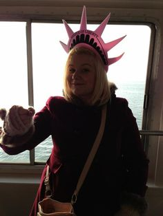 Ruth (Liam's sister) in NYC!