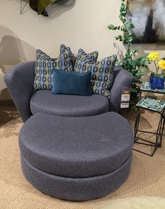 oversized swivel chairs for living room. Super fun oversized swivel chair and ottoman from D cor Rest round a half comfy  Chair with or