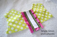 Cute detail for a dress—from Simple Simon & Company
