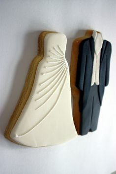 ♔Bride and Groom Cookies