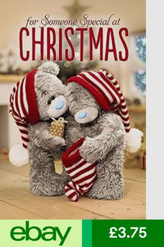 Cards & Stationery Me To You Someone Special Hologram Christmas Card Tatty Teddy Bear & Garden
