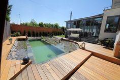 DIY Natural Swimming Pond - Finished