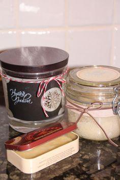 itsetehdyt ihonhoitotuotteet - ohje Easy Gifts, Mason Jars, How To Make, Diy, Bricolage, Mason Jar, Do It Yourself, Homemade, Diys