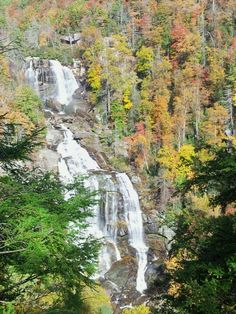 Our favorite waterfall in NC