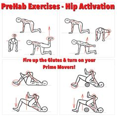 Every modern athlete needs to know how to turn on their Prime Movers!  New Blog Post: Glute Activation Turn On your Prime Movers  Check it out! http://www.prehabexercises.com/2014/12/02/glute-activation/  #prehab #glueactivation #hipactivation #activationexercises #primemovers #preparetoperform