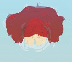 /chancow  #illust#drawing#watercolor#illustration#painting#draw#illustrator#red#redhair#artwork#illustration#photoshop#드로잉#그림#일러스트#일러스트레이터#삽화#art