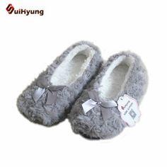 Новые зимние теплые домашние Для женщин Шлёпанцы для женщин хлопок Обувь плюшевые женские обувь для помещения лук-узел флис Крытый Обувь женщина Спальня шлёпанцы для женщин Цена: US $6.50 / Пара Цена со скидкой: US $4.88 / Пара  -25%