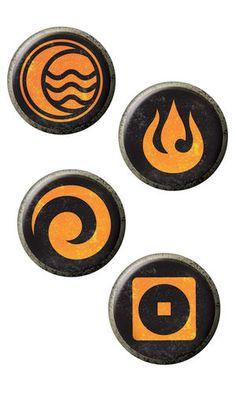 Legend of Korra Pin Set