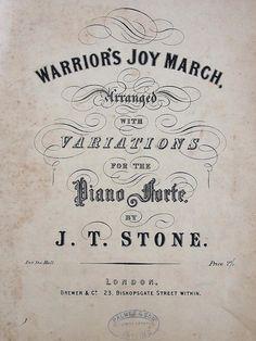 Warrior's Joy March