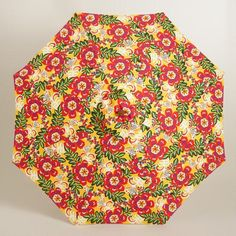 One of my favorite discoveries at WorldMarket.com: Caribbean Floral 9 ft Umbrella Canopy