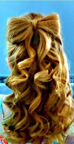 i wish i could do this with my hair!